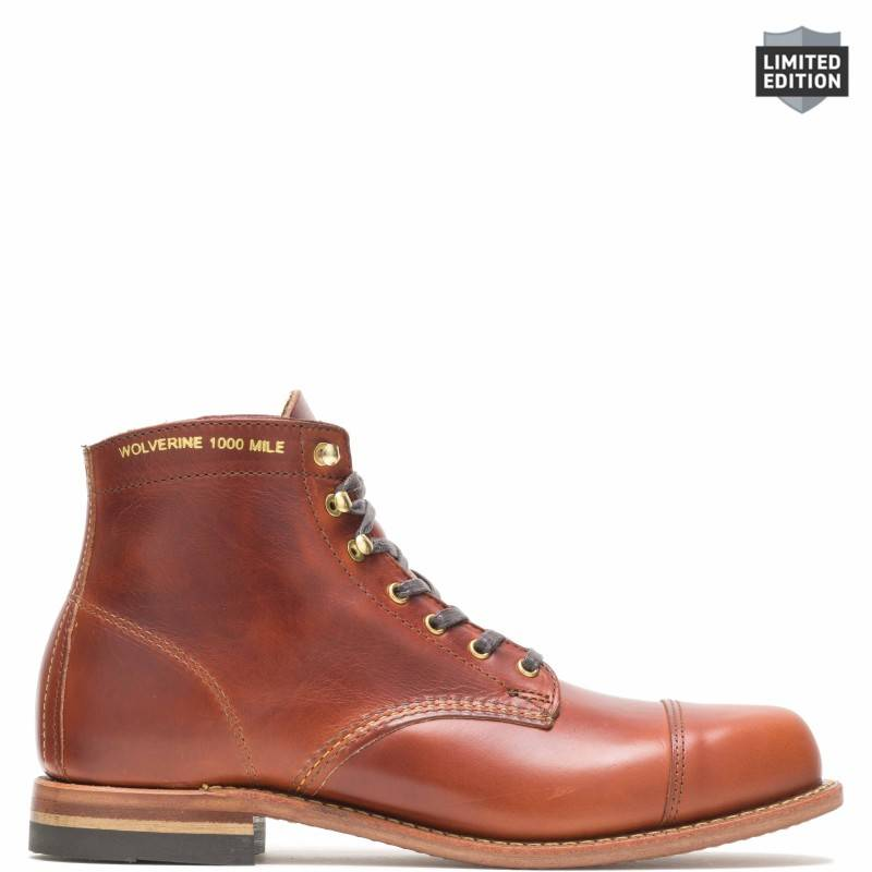 Old Rip X 1000 Mile Cap Toe Bourbon