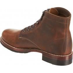 1000 Mile Plain Toe Classic Boot Brown (Evans)