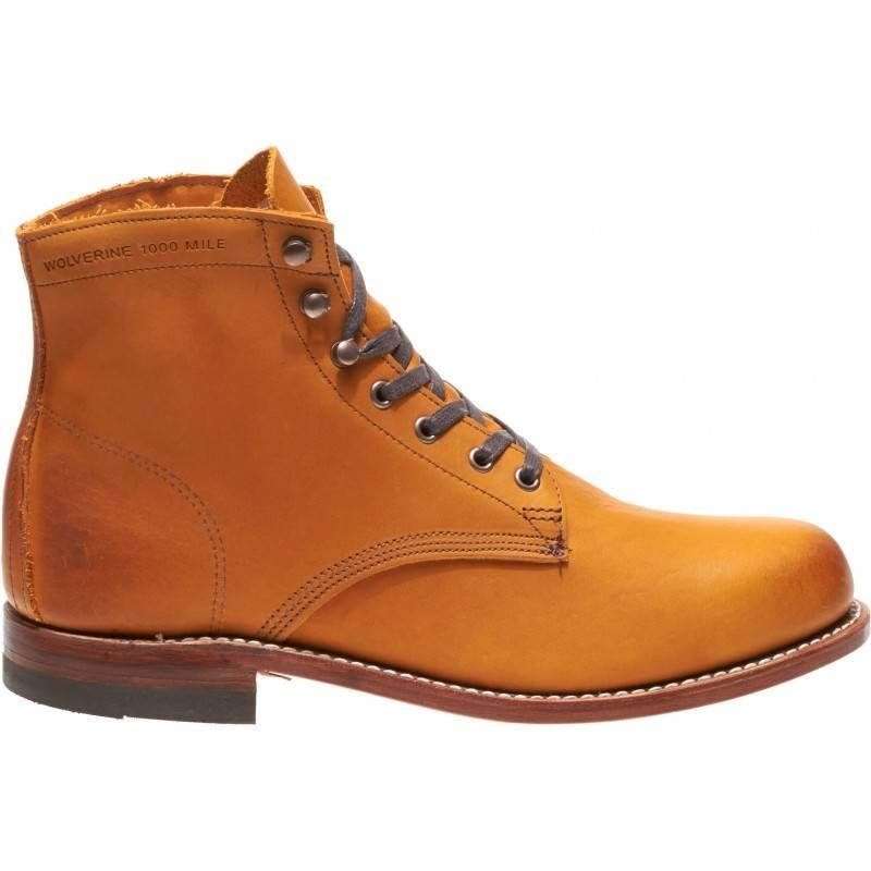 Original 1000 Mile Boot Tan Men