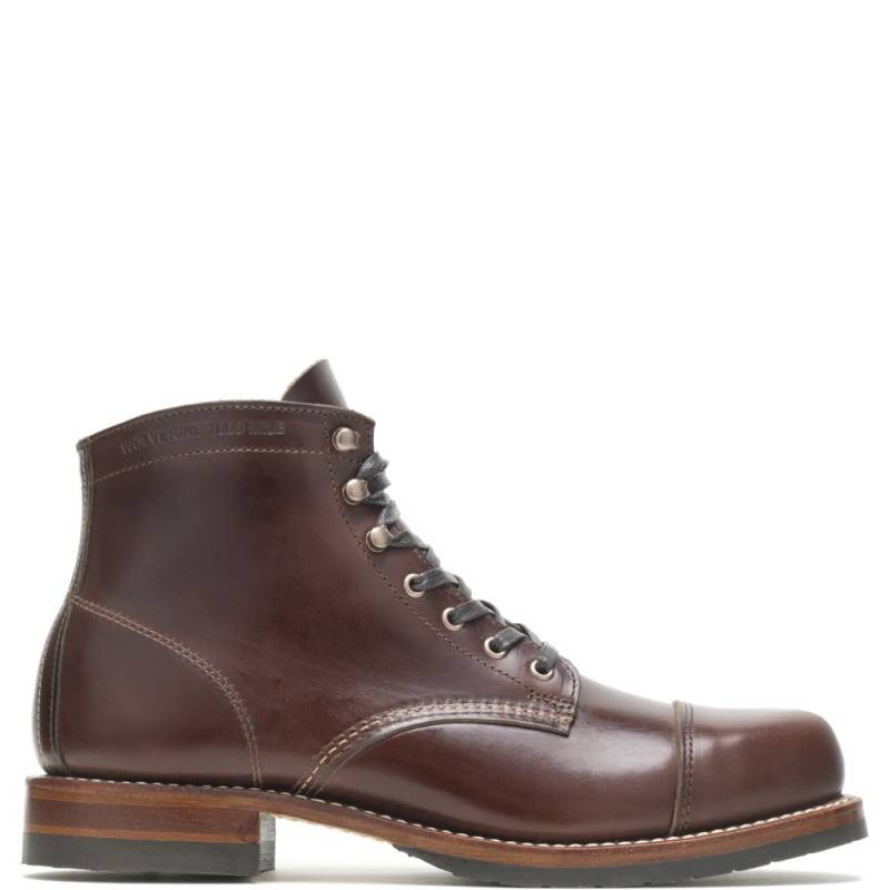 1000 Mile Cap-Toe Boot Dark Brown