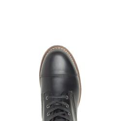 Cap-Toe Boot Black
