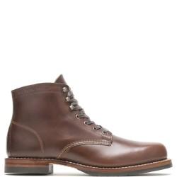 1000 Mile Plain Toe Classic Boot Havana Brown (Evans)